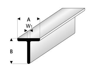 Länge 330 mm Breite 1,25 mm ASA I-Profile 0,76€//Stück Höhe 2,5 mm 5 Stück