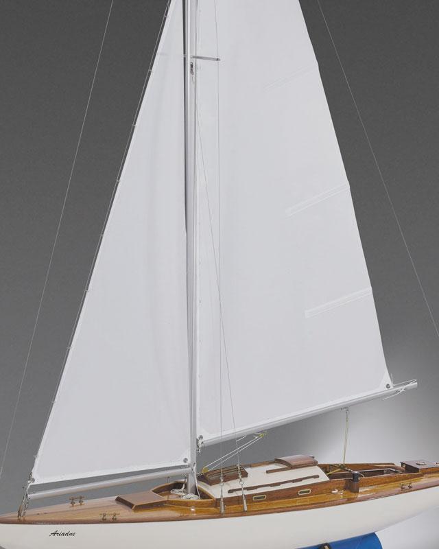 Moderne segelyachten  Ariadne Segelyacht Bausatz   Schiffsmodelle mit Funktion ...