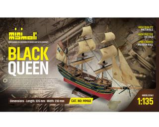 Black Queen Bausatz 1:135 Mini Mamoli