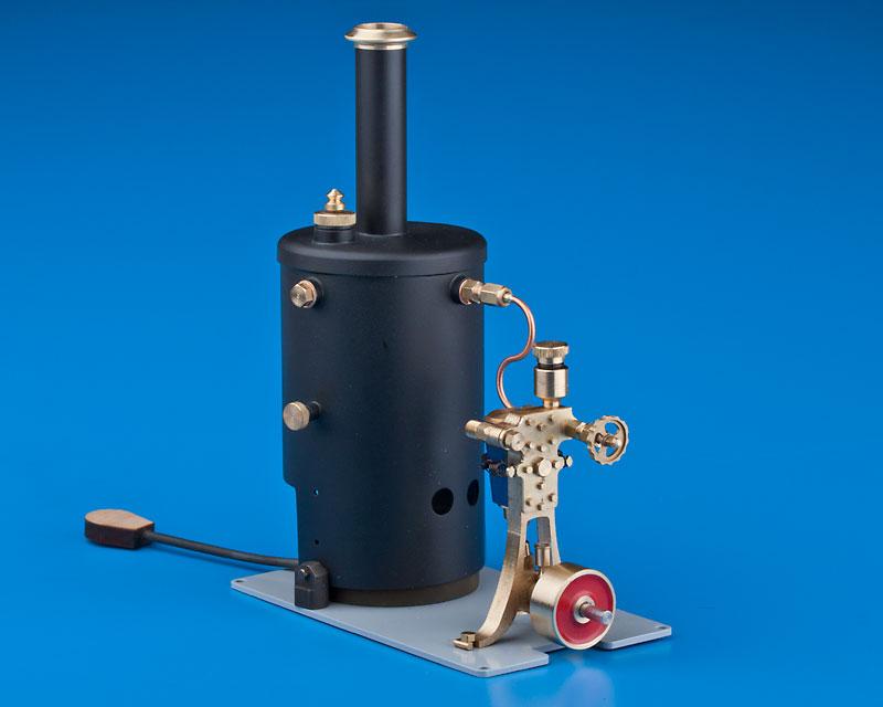 Dampfmaschine Anna Vers. 2 kpl. mit Kessel