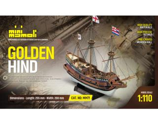 Golden Hind Bausatz 1:110 Mini Mamoli