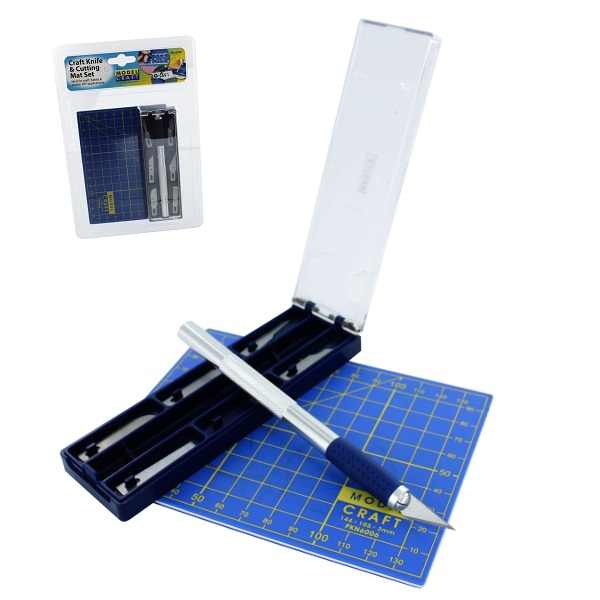 messer magnetic mit 6 klingen schneidmatte. Black Bedroom Furniture Sets. Home Design Ideas