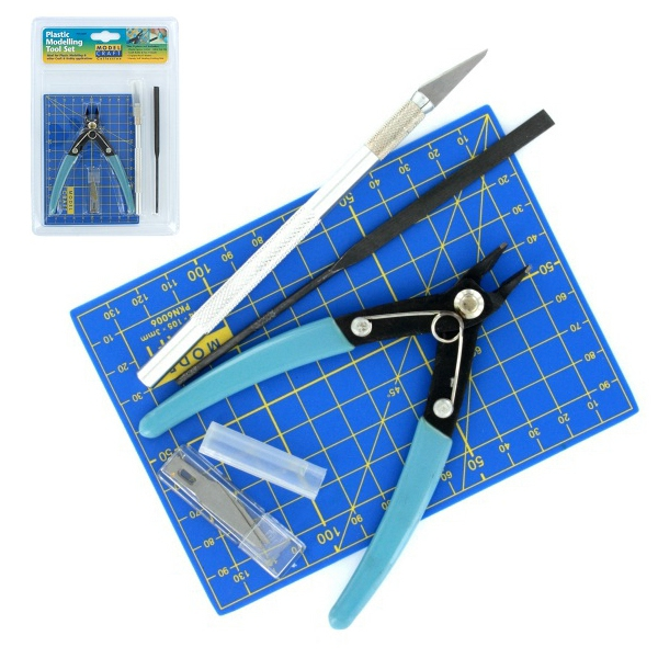 plastik modellbau werkzeug sortiment 9 teile werkzeugsortimente werkzeuge produkte. Black Bedroom Furniture Sets. Home Design Ideas