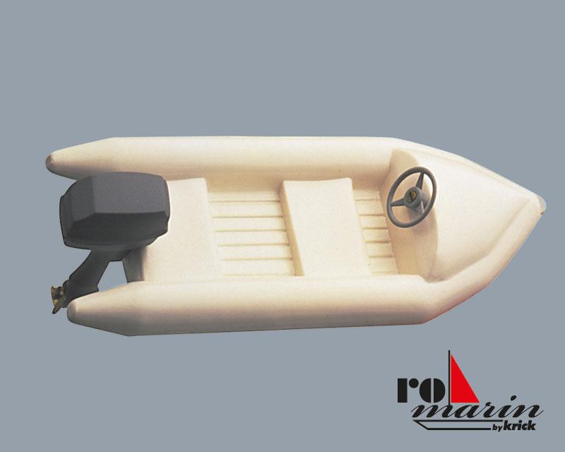 schlauchboot mit au enbordmotor atrappe 1 25 beiboote. Black Bedroom Furniture Sets. Home Design Ideas