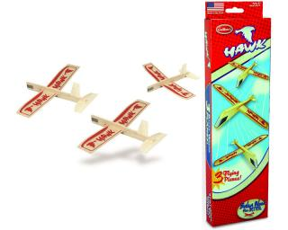 Hawk Balsaglider Triple Pack