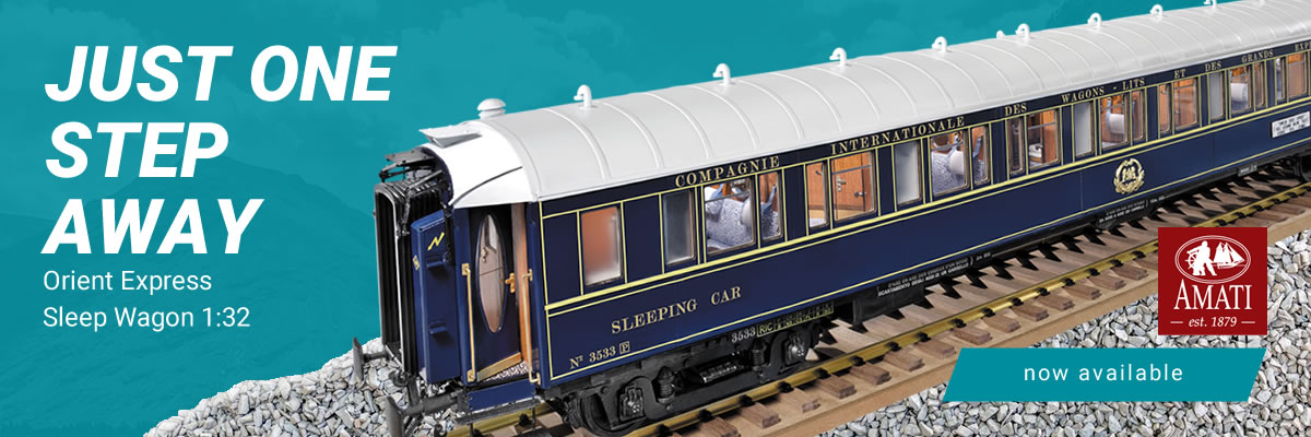 Amati Orient Express Sleeping Car Kit